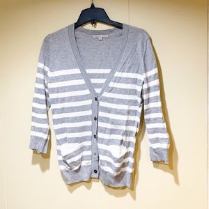 Gap cardigan grey/white